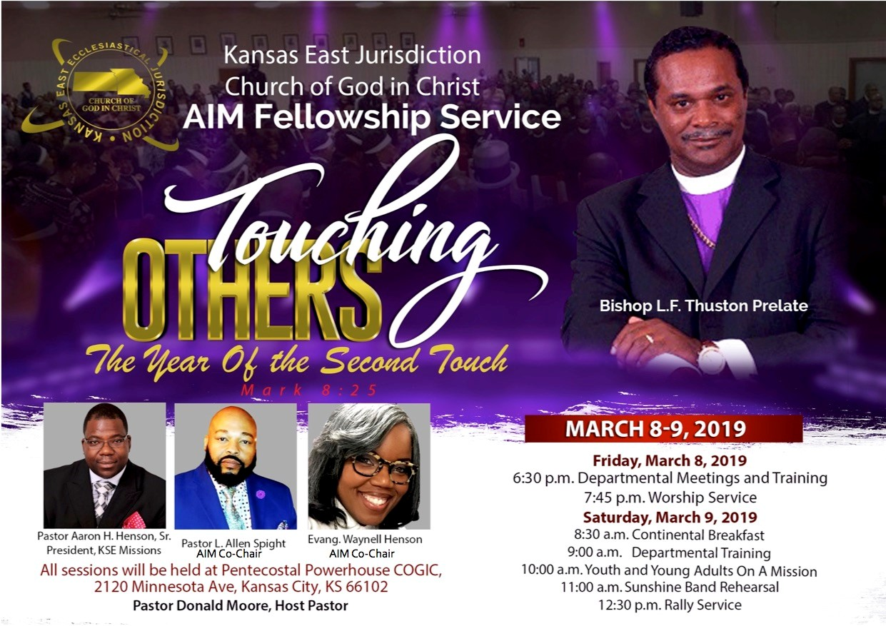 Cogic april call meeting 2019