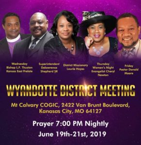 Wyandotte District Meeting – The Historic Boone Tabernacle